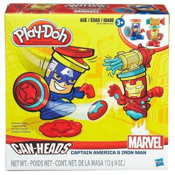 Can-Heads - Captain America & Iron Man
