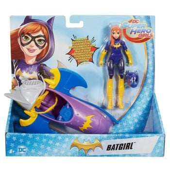 Batgirl and Bat-Jet