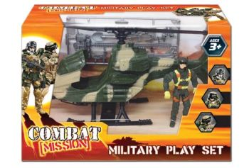 Military Playset - Helicopter