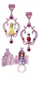 Princess Sofia Ring and Earrings - Castle