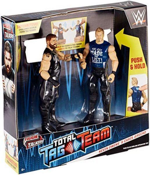 Kevin Owens & Chris Jericho - Tag Team Tough Talkers