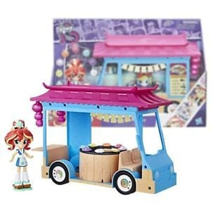 Sunset Shimmer Rollin' Sushi Truck