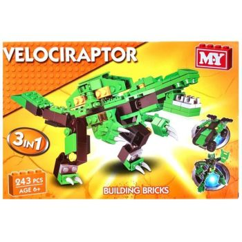 Velociraptor Building Bricks