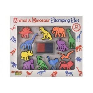 Animal & Dinosaur Stamping Set
