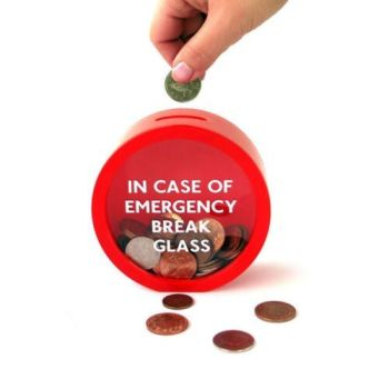 Break Glass Money Box