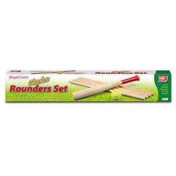 Wooden Rounders Set