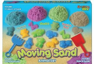 Moving Sand Animal Set