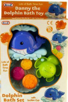 Danny the Dolphin Bath Toy