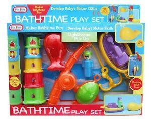 Lighthouse Pile Up Bathtime Play Set