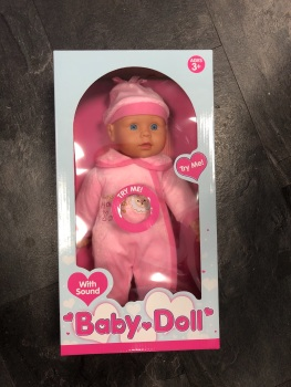 Baby Doll with Sound
