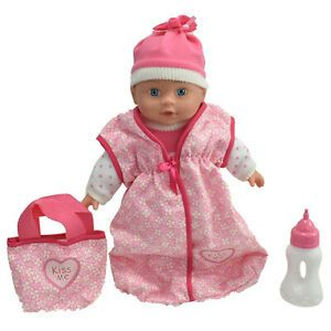 Baby Doll with Sleep Bag & Accessories