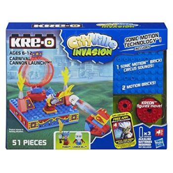 Kre-o Cityville Invasion - Carneval Cannon Launch