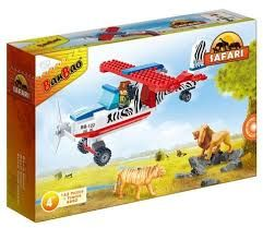 Fly Safari Plane Set
