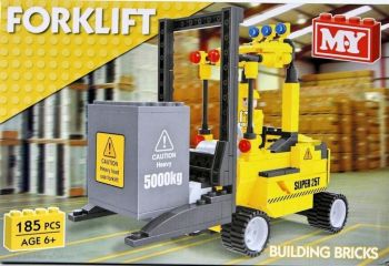 Forklift Building Bricks Set