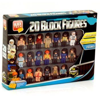 20 Block Figures