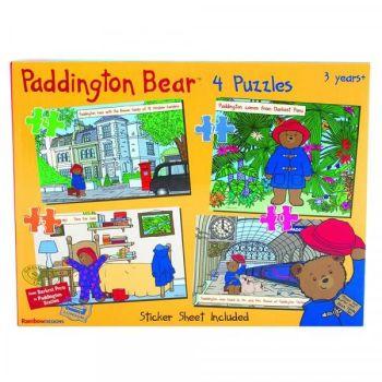 Paddington Bear (4 Puzzles)
