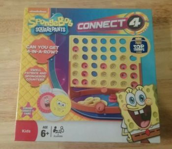 Connect 4 - Spongebob