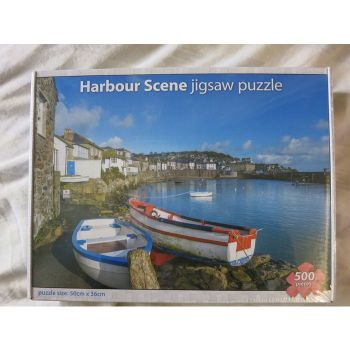 Harbour Scene Jigsaw Puzzle
