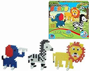 Spray & Stick Beads - Zoo Animals