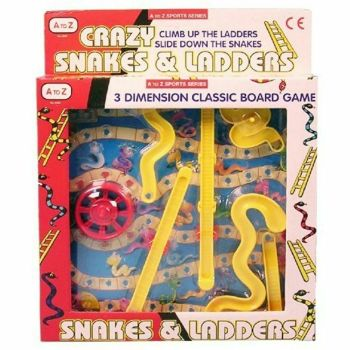 Crazy Snakes and Ladders