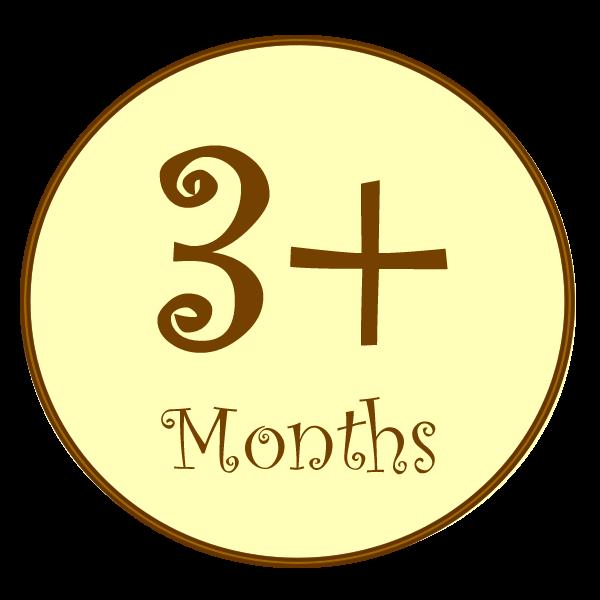 B, 3+ Months