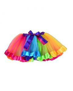 Plush Rainbow Tutu