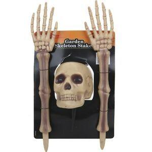 Garden Skeleton Stakes