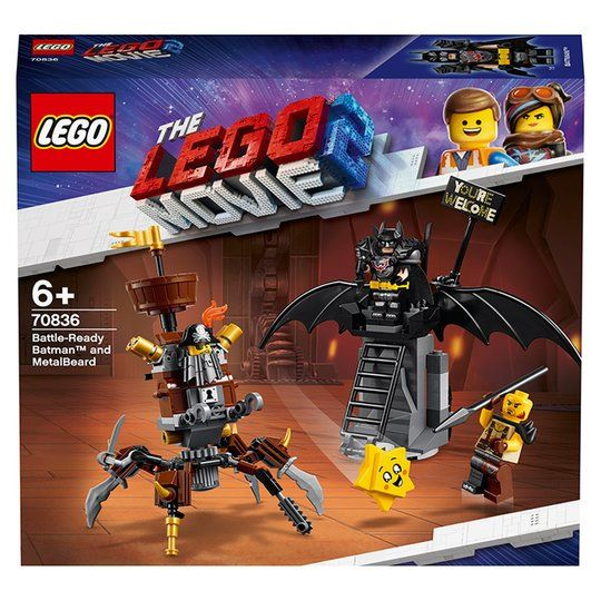 Battle Ready Batman and MetalBeard (70836)