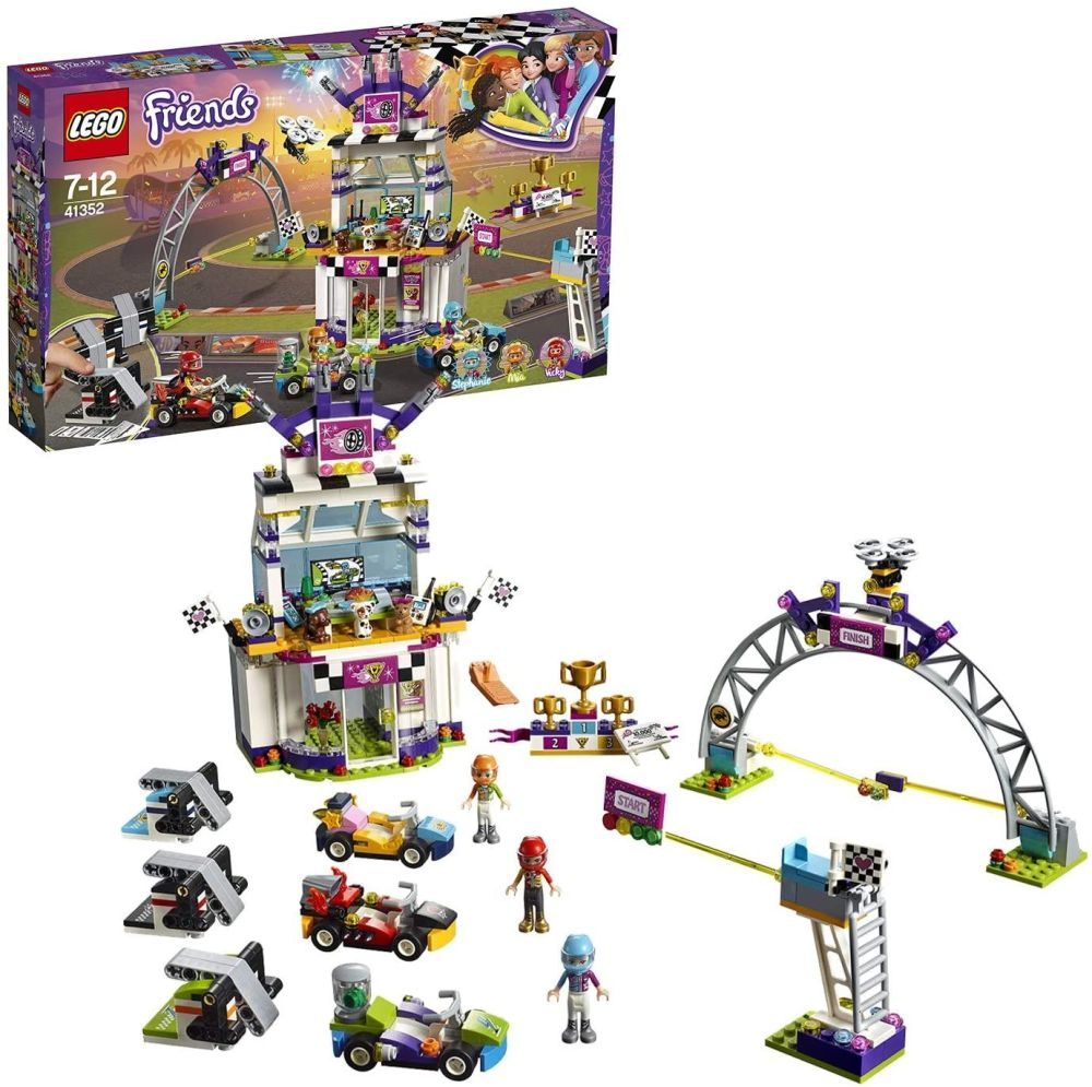 The Big Race Day LEGO Friends (41352)