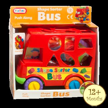 Shape Sorter Bus