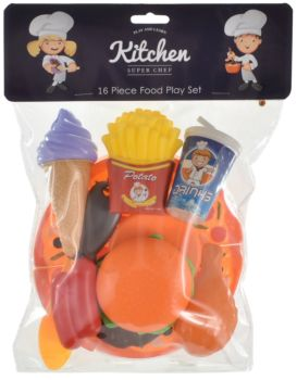 16 Piece Play Food Set