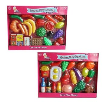 Deluxe Play Food Set