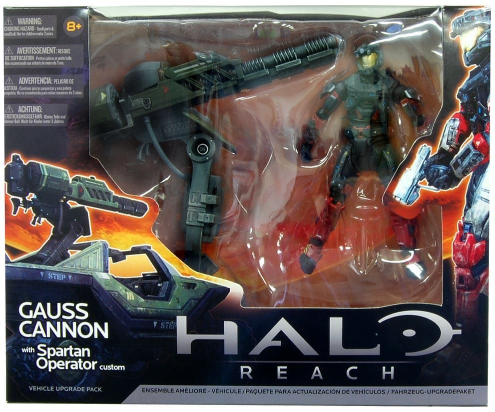 Halo Reach Gause Cannon with Spartan Operator