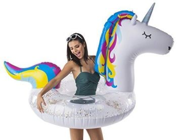 Giant Magical Unicorn Pool Float