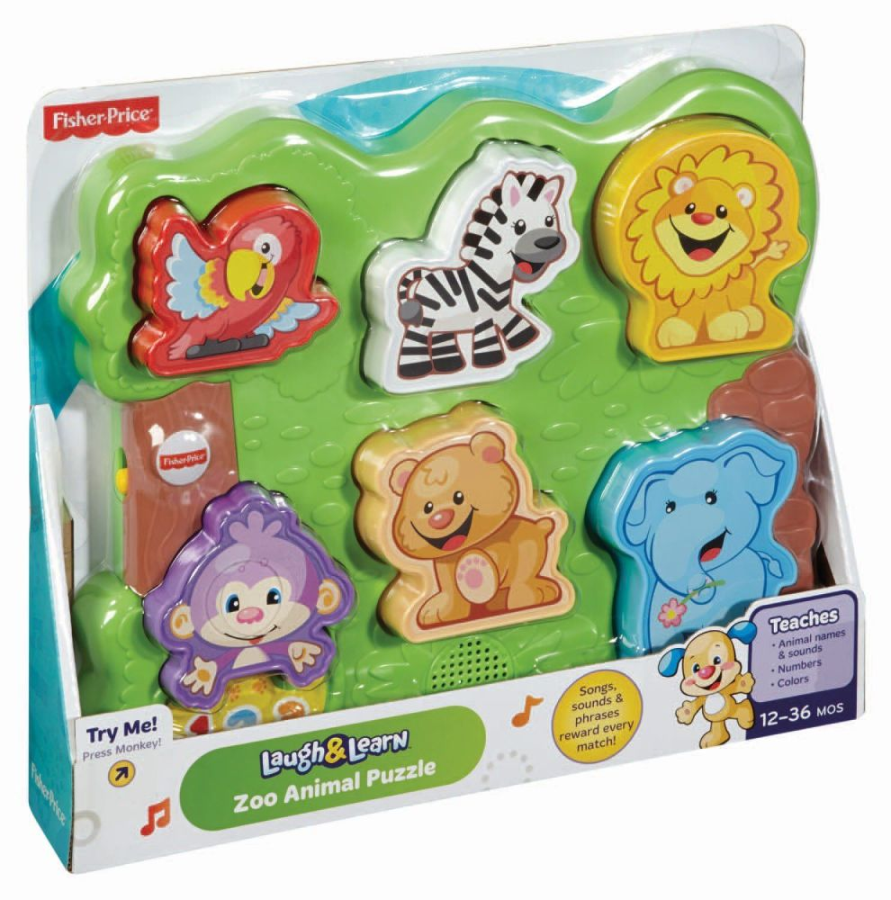 Fisher-Price Zoo Animal Puzzle