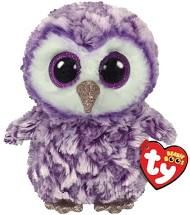 Moonlight Purple Owl