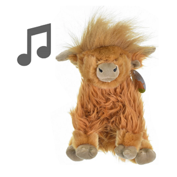 Highland Cow With Sound
