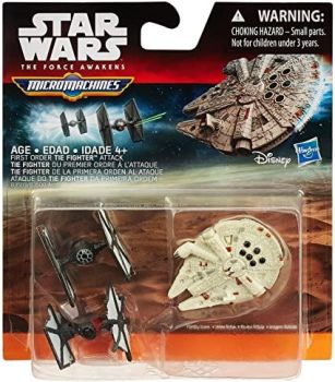 Micro Machines First Order Tie Fighter Attack