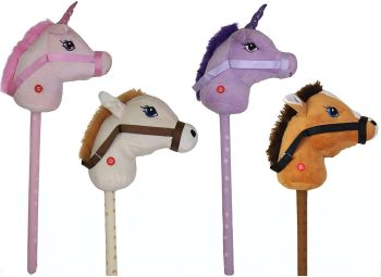Hobby Horse & Unicorn With Sound