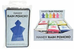 Handy Rain Poncho - assorted