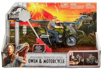 Rip Run Dinos - Owen & Motorcycle