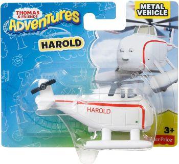 Thomas Adventures Harold Metal Engine