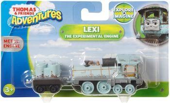 Thomas Adventures Lexi The Experimental Metal Engine
