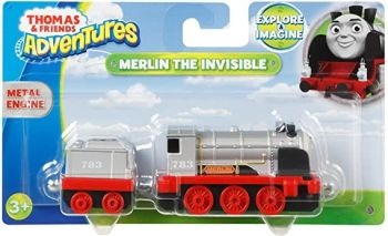 Thomas Adventures Merlin the Invisible Metal Engine