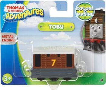 Thomas Adventures Toby Metal Engine