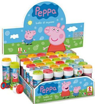 Bubble Tub With Wand Peppa Pig