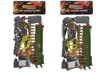 Army Soldier Playset