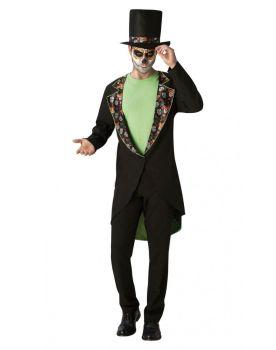 Gentleman's Day Of The Dead Adult Costume