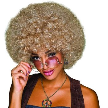 70's Afro Blonde/Brown