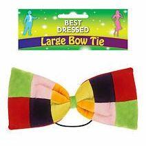 Clown Bow Tie XL